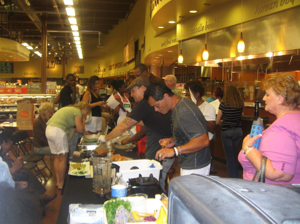 Baby I Like It Raw! Foods Class @ Whole Foods