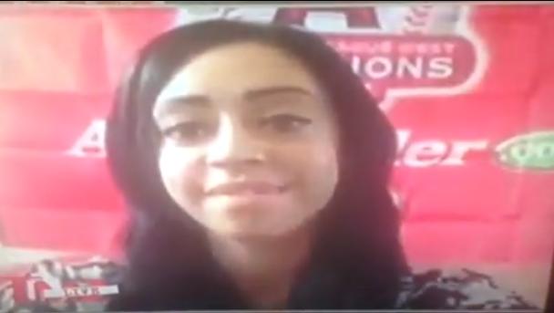 // Candy Robinson Talks Lamar on TMZ * : : . .