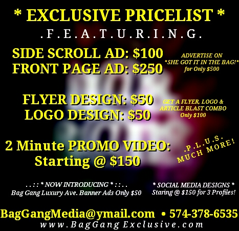 // EXCLUSIVE PRICELIST * : : . .